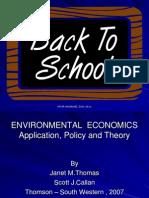 Environmental Economics 2008