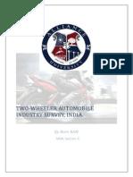 report on two wheeler market