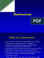 Destructors (1)
