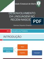 Desenvolvimento Da Linguagem No Recém-nascido