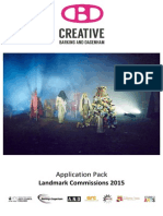Creative Barking and Dagenham Landmark Commissions 2015 Application Pack