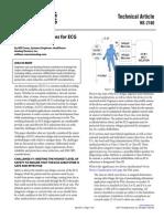Mitigation Strategies for ECG Design Challenges
