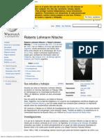 Roberto Lehmann Nitsche - Wikipedia, la enciclopedia libre.pdf