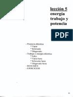 ENERGIA TRABAJO Y POTENCIA