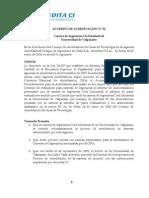 Acuerdo de Acreditación Acredita CI N° 52