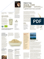 Maca Powder Uses