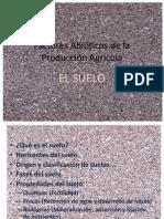 El Suelo en La Producción Agrícola