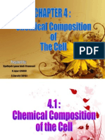 Chemical Composotion of the Cell