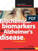 Biochemical biomarkers  in Alzheimer's disease