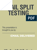Email Split Testing is Essential for Profitability