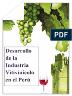 Desarrollo de la Industria Vitivinicola en el Perú