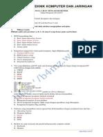 Soal Jawaban Uts Tkj Kelas x 20122013