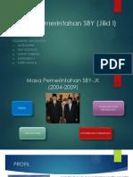 Masa Pemerintahan SBY (Jilid I)