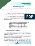 Metabolismo Del Calcio(1)