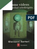 """""""El progreso tecnológico"""", un capítulo de """"Homo Videns, la Sociedad Teledirigida"""", de SARTORI, G. (2002)"""