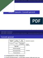 Concetti Generali sistemi operativi