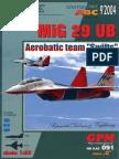 Mig-29 Ub Aerobatic Team Swift