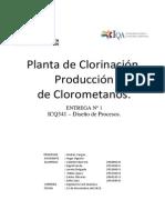 Entrega 1 Planta Clorometanos