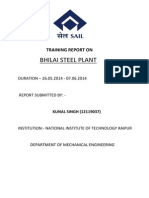 Training Report on Bsp