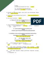 Soal FP 1 Dan 2 Neurologi - 2010