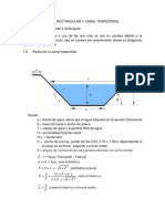 CANALES TRAPEZOIDAL