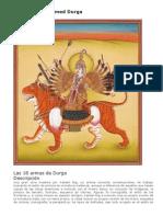 The Eighteen-Armed Durga