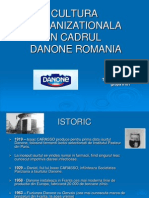 Cultura Organizationala Danone
