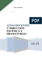 GUÍAS_DOCENTES_2º_DYD_CURSO_2014-2015