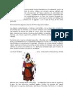 Trabajo Sobre Los Indigenas de La Mujer de Chume