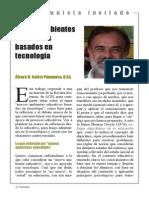 Nuevos Ambientes Educativos Basados en Tecnología. Dr. Galvis