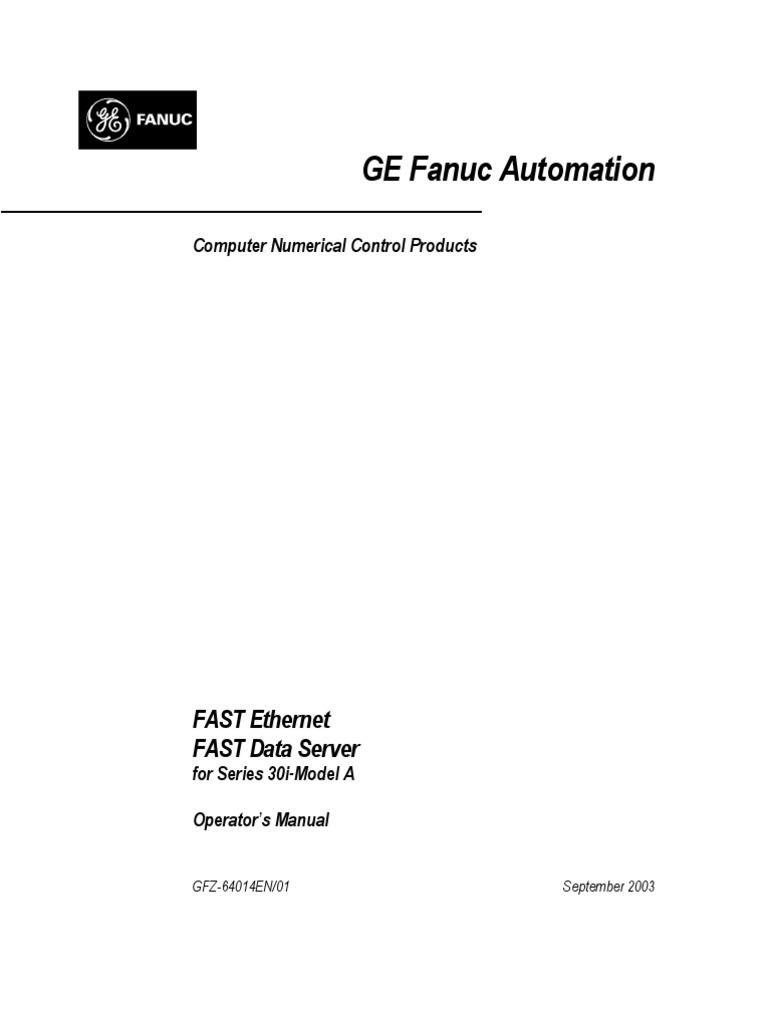 Fanuc Operator Manual 31i | Ip Address | File Transfer Protocol