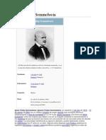 Informacion de Semmelweis