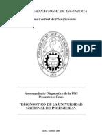Diagnostico de Universidad Nacional de Ingenieria