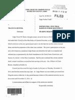 Juror Misconduct Motion
