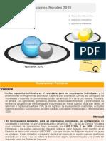 Declaraciones fiscales 2010