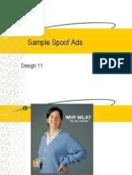 sample spoof ads