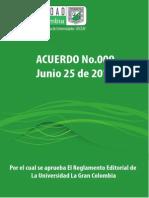 Acuerdo 009