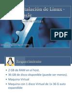 Instalación de Linux - Oracle