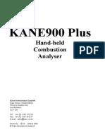 Kane 900Plus Operating Manual