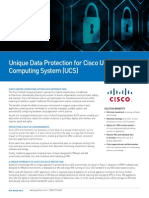unique data protection for cisco unified computing system ucs solution brief sb00106a