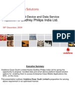 Vodafone Bundled-Device and Data Service Proposition