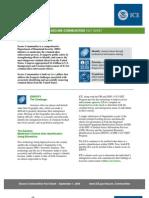 ICE Fact Sheet - Secure Communities (9/1/09)