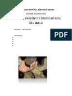 densidad aparente del suelo informe edafo
