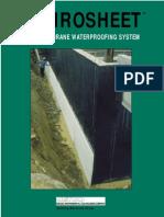 Sheet Membrane Waterproofing System