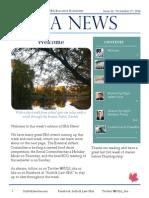 SBA Newsletter 11 - 11/17/14