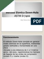Down Hole Metodo Sismico