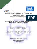 DBC - ANPE 48 OBRAS ALALAY nuevo ok. 2014 - 2DA. CONVOCATORIA.doc