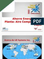 Ahorre Energía en Su Planta - Carlos Garza
