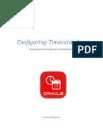 Configuring Timecards App