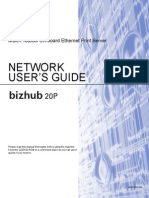 Network User Guide Bizhub 20P